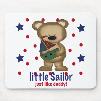 Little Sailor Like Daddy Mouse Pad