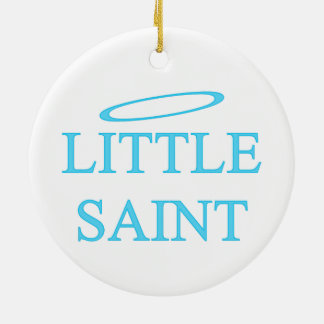 Little Saint Christmas Ornament