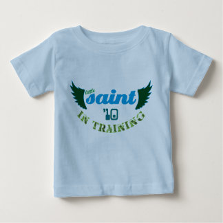 Little Saint in Training '10 Christian baby tee