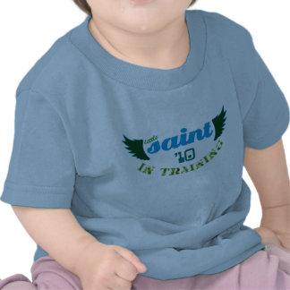 Little Saint in Training '10 Christian baby tee