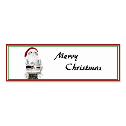 Little Santa Robo-x9 Business Card