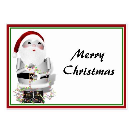 Little Santa Robo-x9 Business Cards