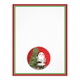 Little Santa Robo-x9 Flyer Design