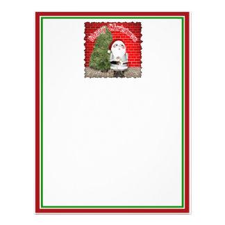Little Santa Robo-x9 Full Color Flyer