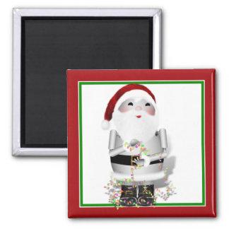 Little Santa Robo-x9 Fridge Magnet