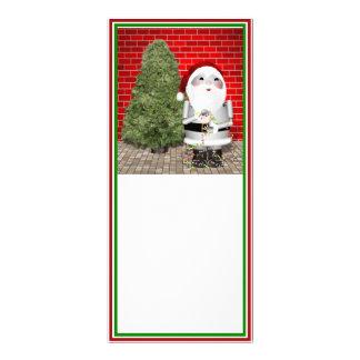 Little Santa Robo-x9 Custom Rack Card