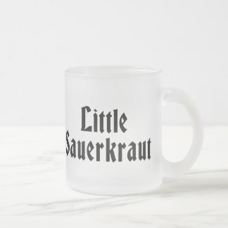 Little Sauerkraut Mugs