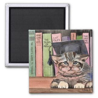 Little Scholar Square Magnet