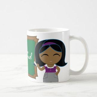 little SCHOOL TEACHER thank you gift mug