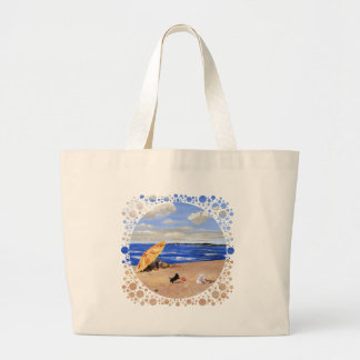Little Scottie Plays at the Beach Bag