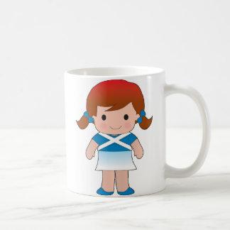 Little Scottish Girl Coffee Mug