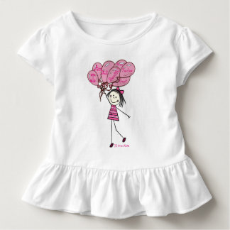Little Seraphina - I am me. Toddler T-Shirt