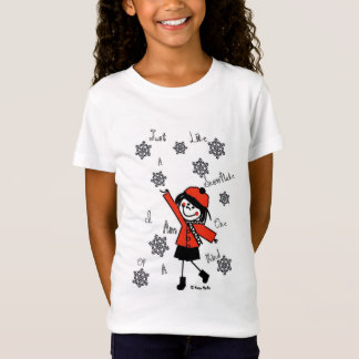 Little Seraphina Snowflake T-Shirt