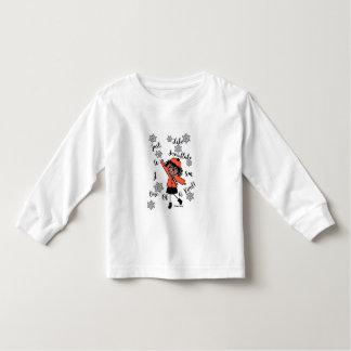 Little Seraphina Snowflake Toddler T-Shirt