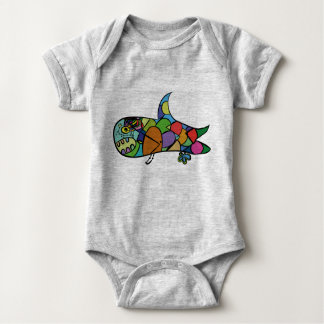 Little Shark - Follow your dream Baby Bodysuit