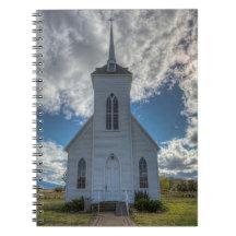 LITTLE SHASTA CHURCH SPIRAL NOTEBOOK