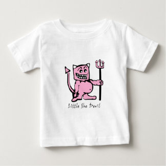 little she devil /baby girl baby T-Shirt