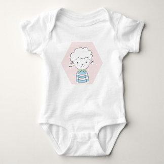 Little sheep baby bodysuit
