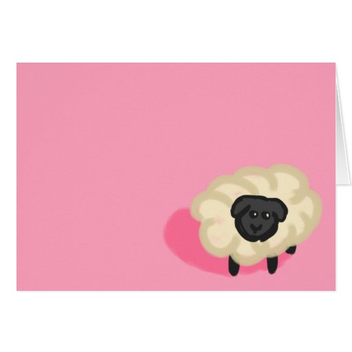 Little sheep cards