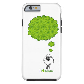 Little sheep dream about Ireland Tough iPhone 6 Case