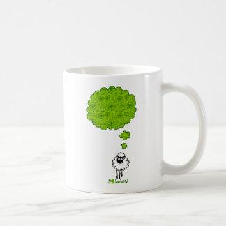 Little sheep dream about Ireland Coffee Mugs