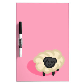 Little sheep dry erase whiteboards