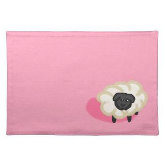 Little sheep place mat