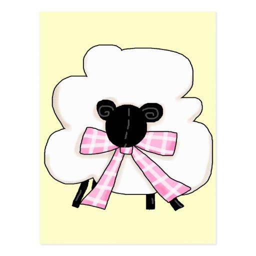 Little Sheep Post Card