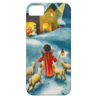 Little shepherd on the road to Bethlehem Barely There iPhone 5 Case