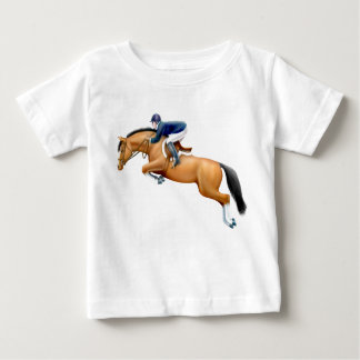 Little Show Jumper Horse Infant T-Shirt