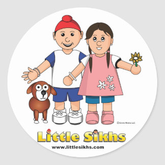Little Sikhs Stickers