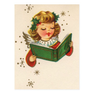 Little Singing Angel Postcard