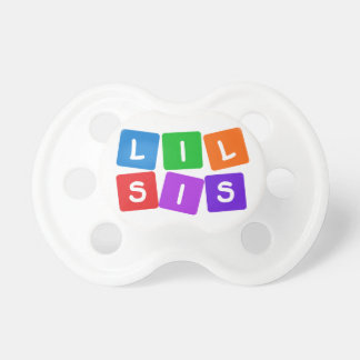 Little Sis pacifier