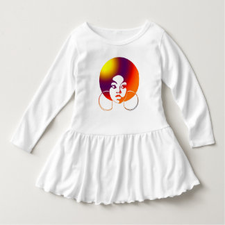 Little Sistah Sunset Toddler Dress
