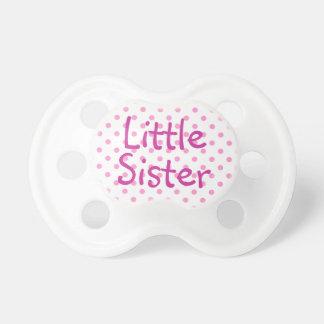 Little Sister and White Polka Dot Dummy
