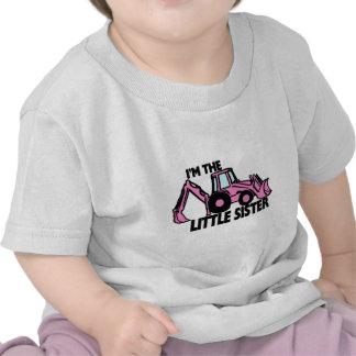 Little Sister Backhoe Tshirts
