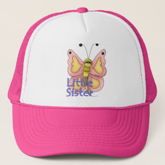 Little Sister Butterfly Trucker Hat