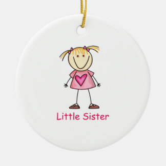 LITTLE SISTER CHRISTMAS ORNAMENT