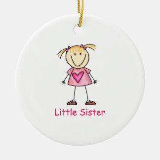LITTLE SISTER CHRISTMAS ORNAMENT
