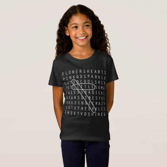 Little Sister Crossword Puzzle Family Shirt