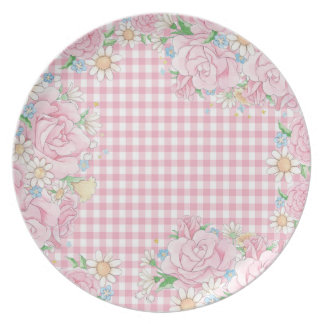 Little Sister (floral) Plate