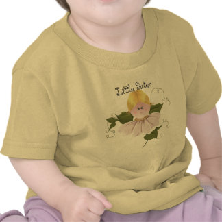 Little Sister Garden Fairy Folk Art T-shirt