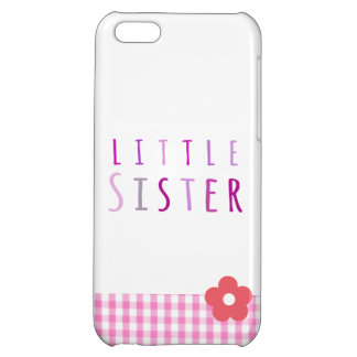 Little sister in pink iPhone 5C cases