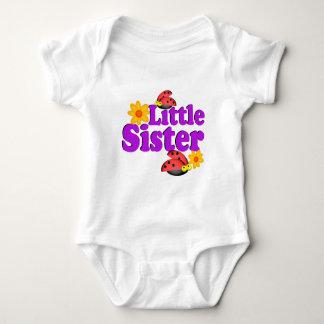 Little Sister Ladybug Baby Bodysuit