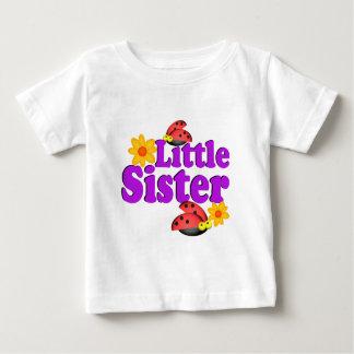 Little Sister Ladybug Baby T-Shirt