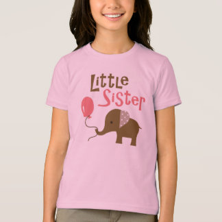Little Sister - Mod Elephant t-shirts for girls