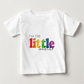 Little Sister - rainbow flowers Tshirts