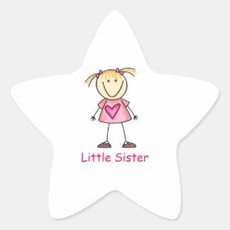 LITTLE SISTER STAR STICKER