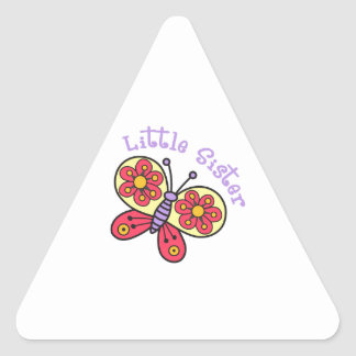 Little Sister Triangle Stickers