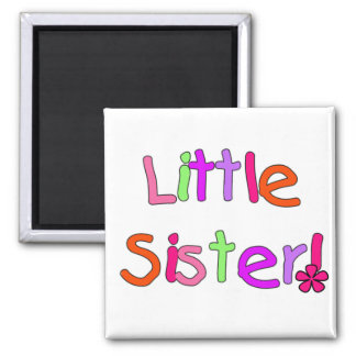 Little Sister Tshirts and Gifts Square Magnet